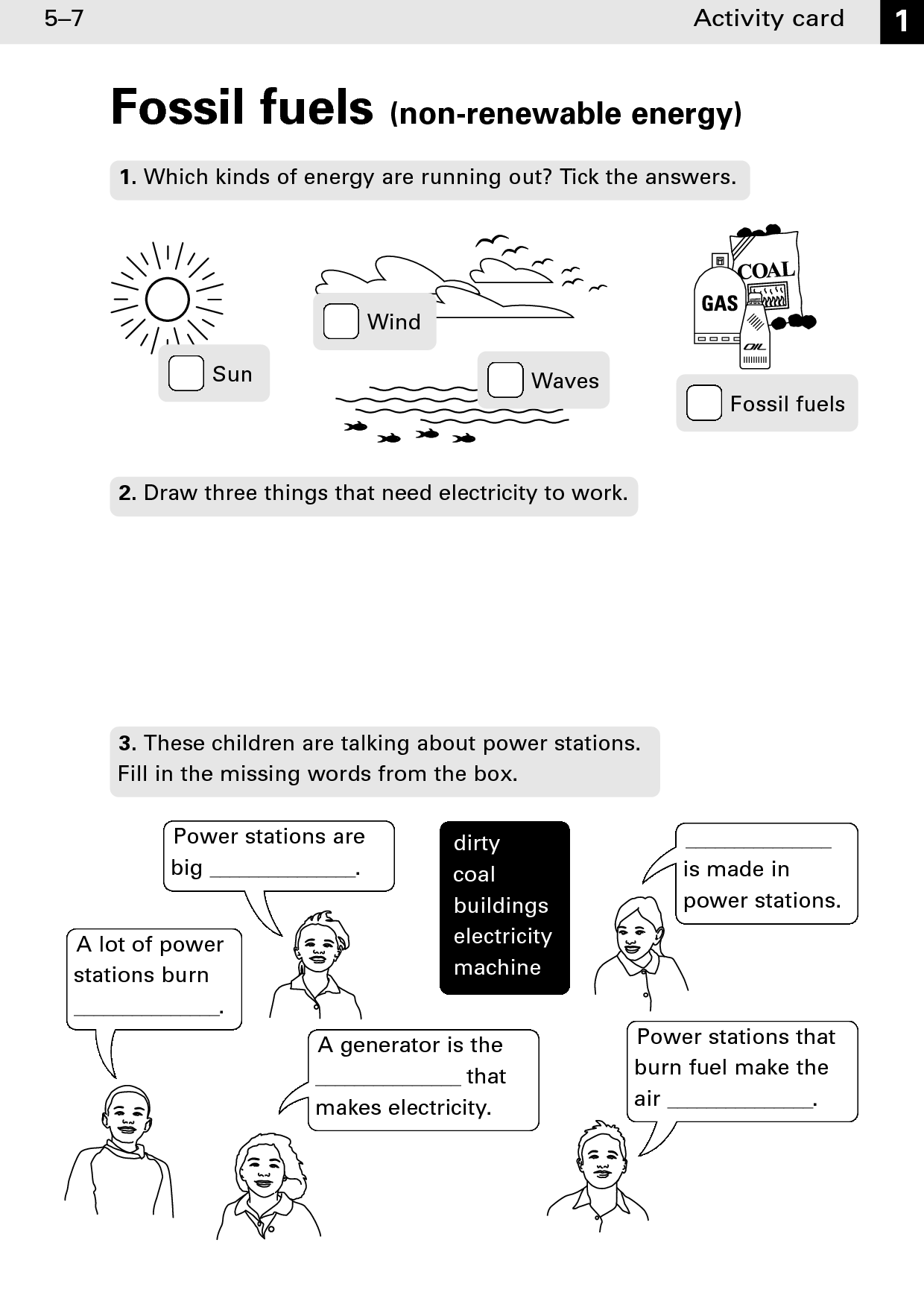 11 Best Images Of Alternative Energy Worksheet Activity