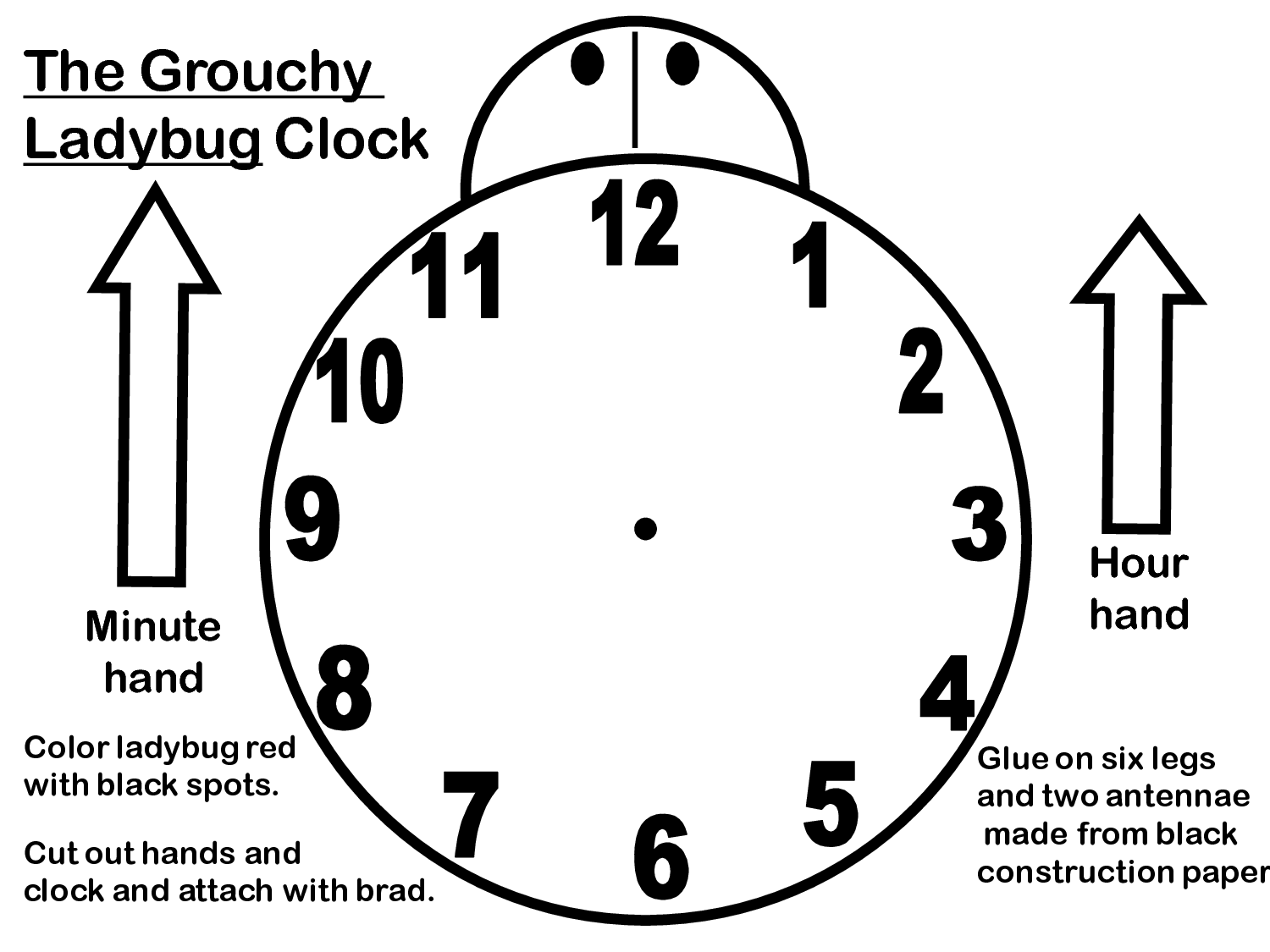 Clock Worksheet Category Page 2