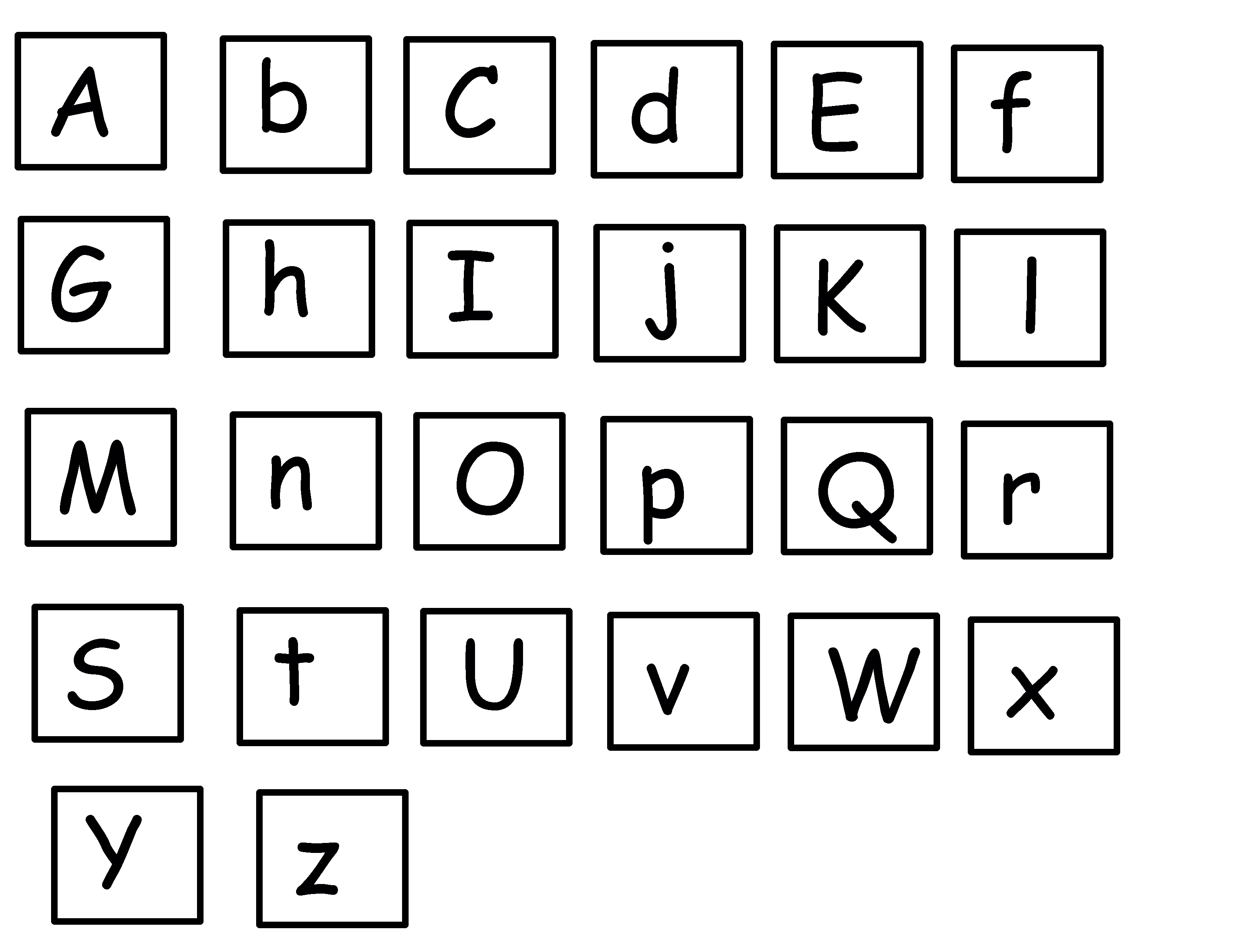 13 Best Images Of Alphabet Fun Worksheets