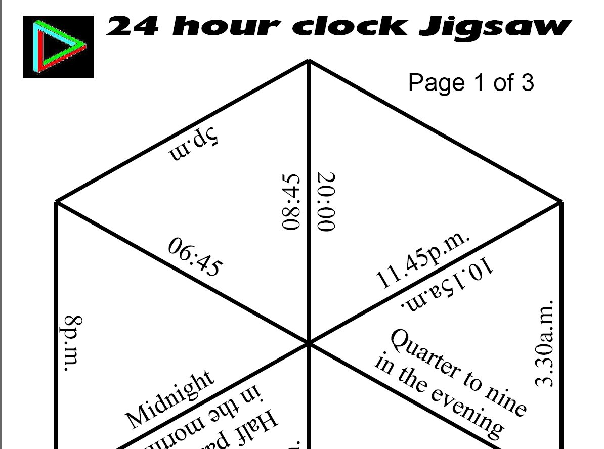 12 Best Images Of 24 Hour Clock Time Worksheets