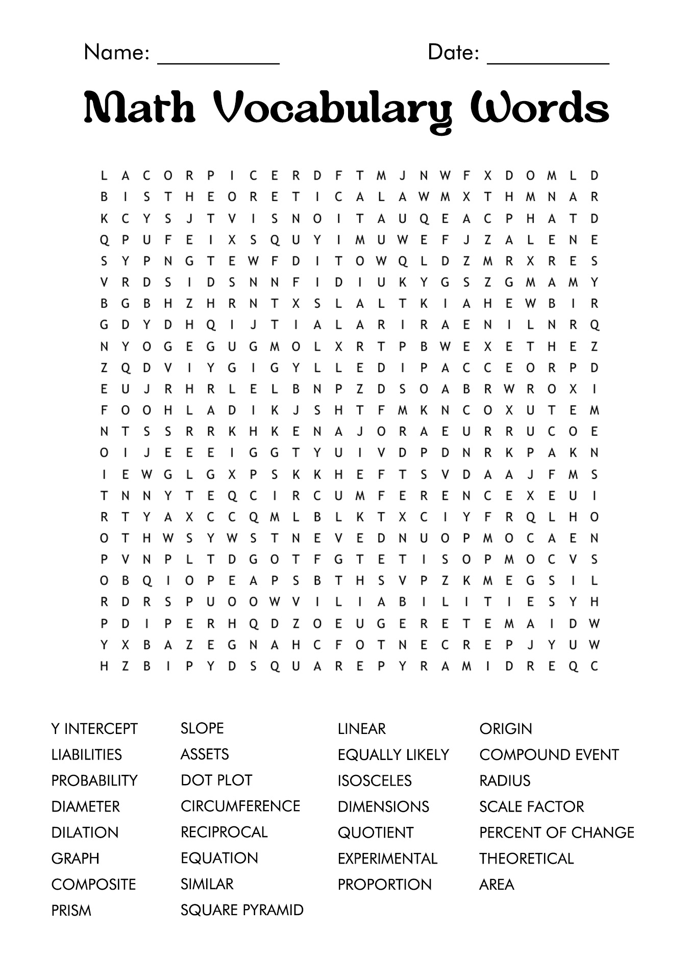 17 Best Images Of 7th Grade Vocabulary Worksheets
