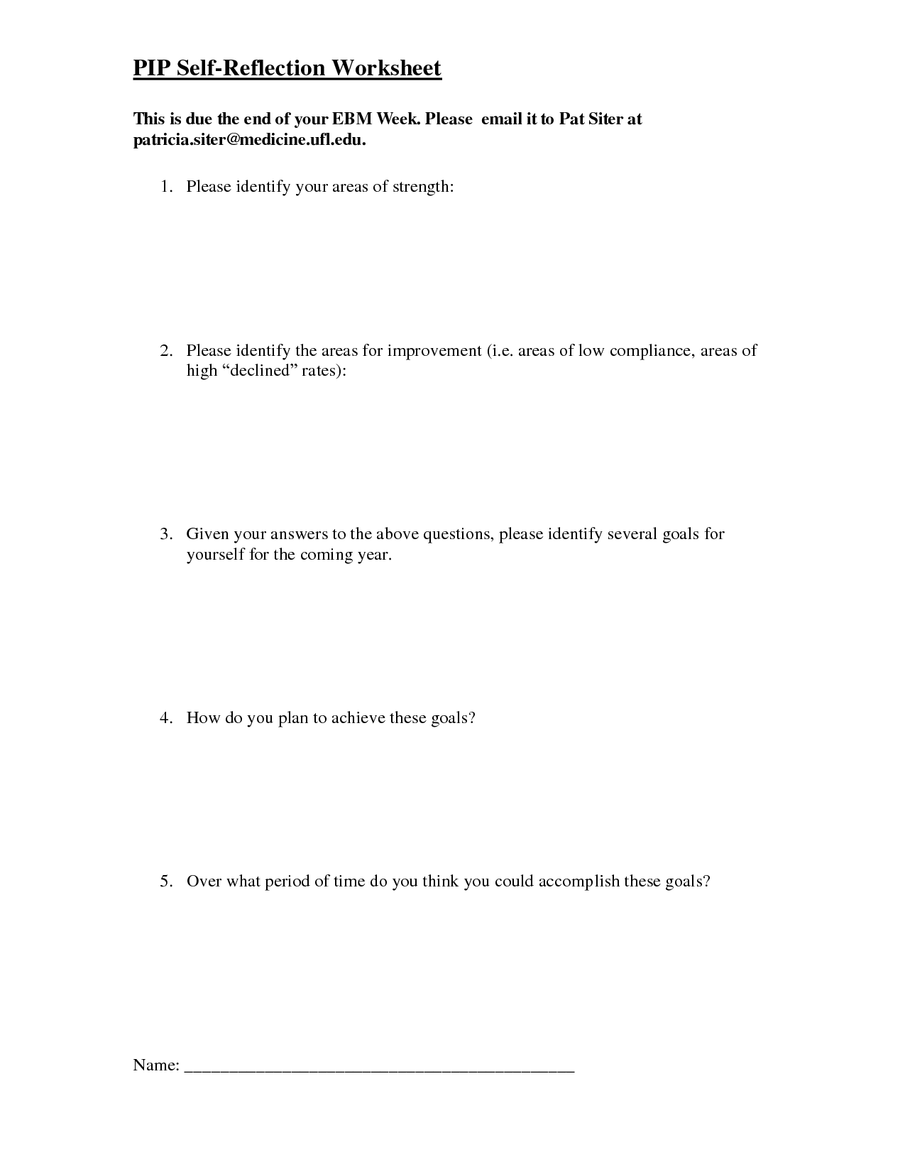 16 Best Images Of Art Reflection Worksheets