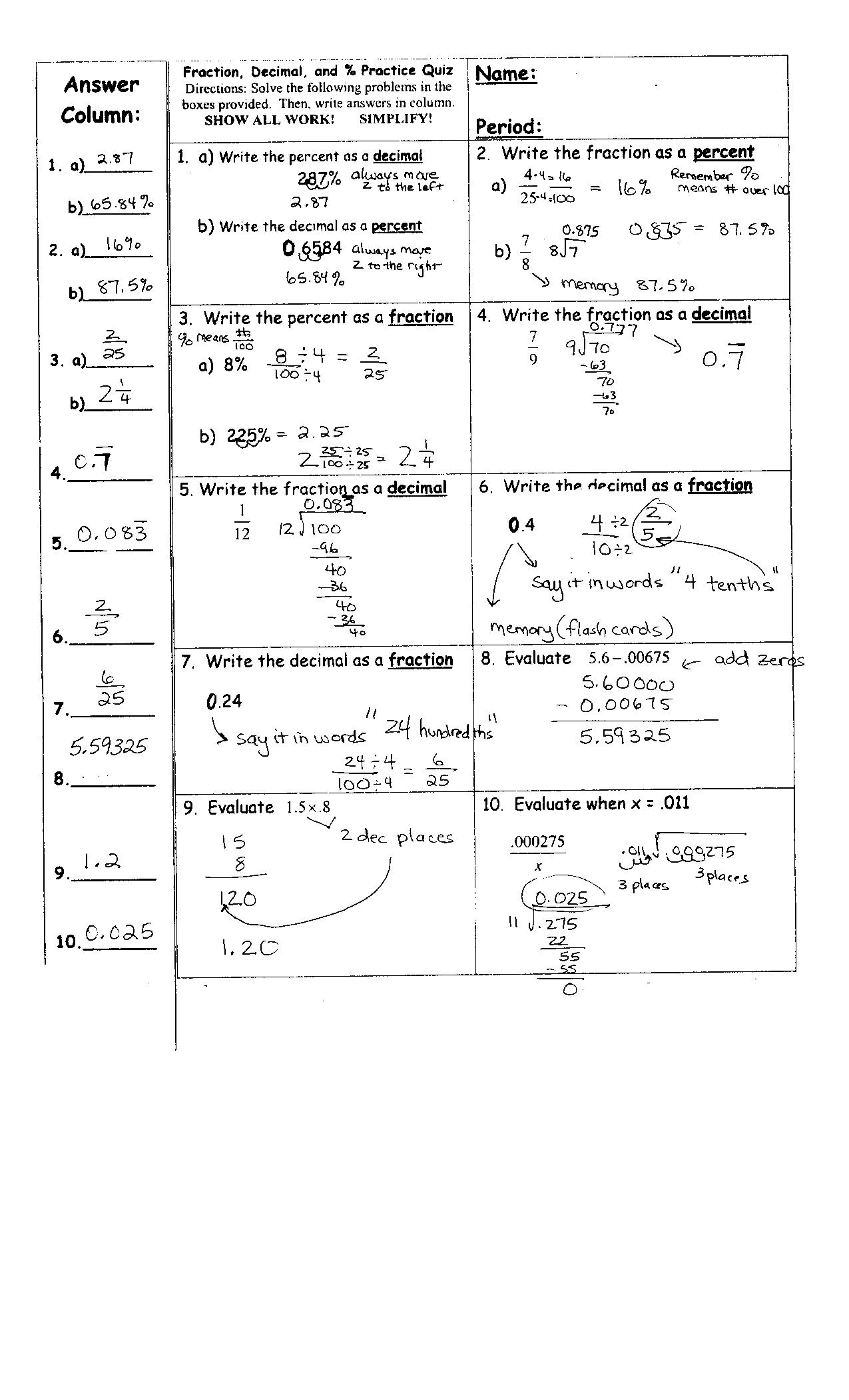 Test Of Genius Worksheet Dd 72
