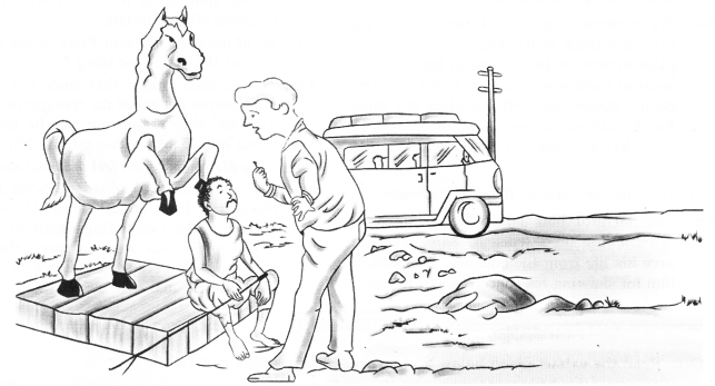 Treasure Trove Short Stories Workbook Answers A Horse and Two Goats