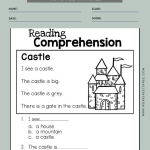 1st Grade Reading Comprehension Worksheets 1