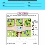 1st grade map worksheets 2