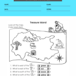 1st grade map worksheets 6