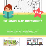 1st grade map worksheets