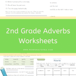 2nd Grade Adverbs Worksheets