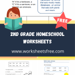 2nd grade homeschool worksheets