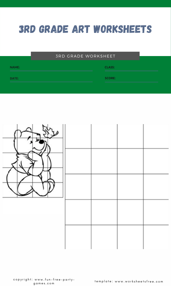 3rd grade art worksheets 1