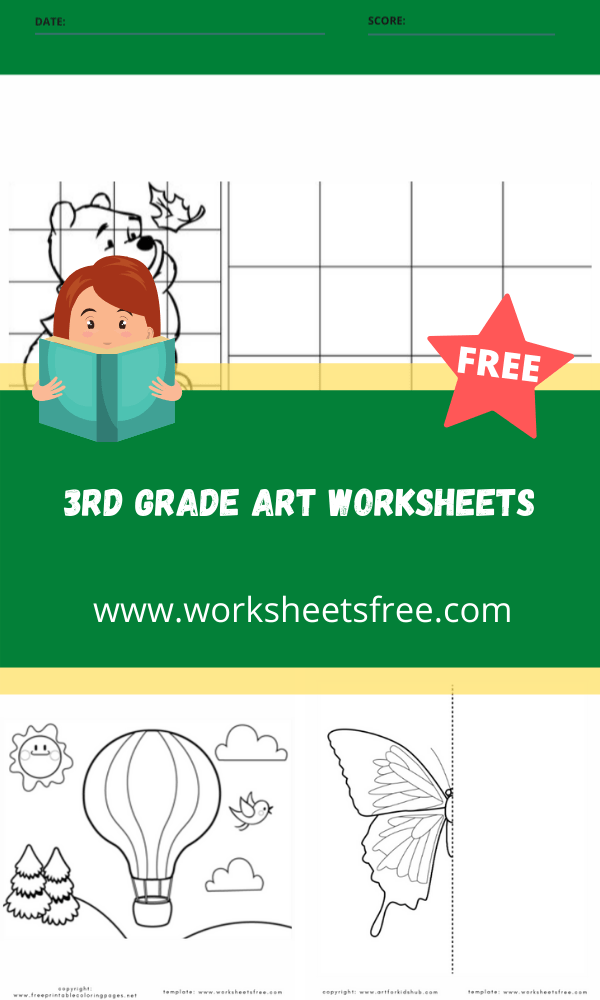 3rd grade art worksheets