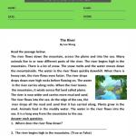 3rd grade comprehension worksheets 1