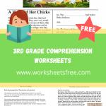 3rd grade comprehension worksheets