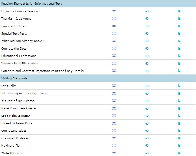 3rd grade ela test prep worksheets 2