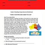 3rd grade reading comprehension worksheets pdf 2