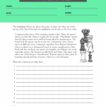 4th grade reading comprehension worksheets with question 4
