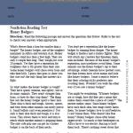 6th Grade Reading Comprehension Worksheets 1