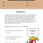 6th grade ela worksheets 3