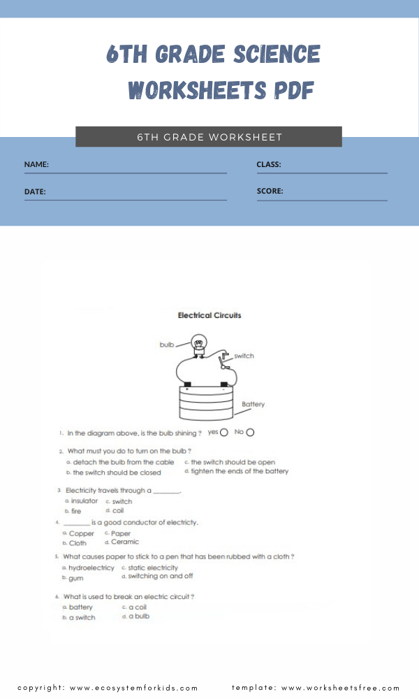 6th grade science worksheets pdf (1)