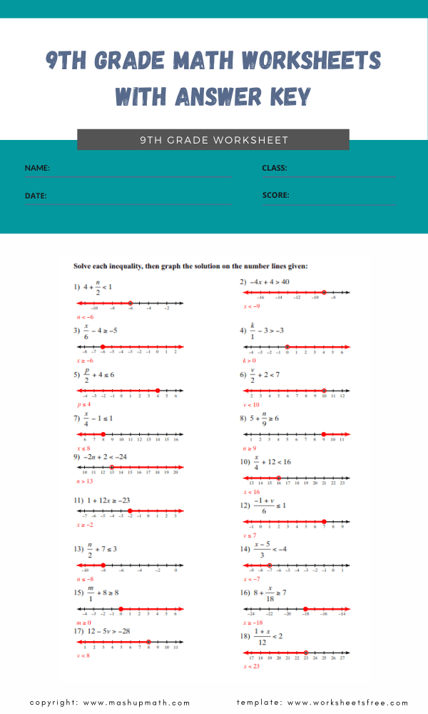 9th-grade-math-worksheets-with-answer-key-10