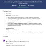 Accountant Resume Example 5