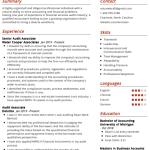 Accounting Associate Resume Sample 1