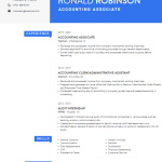 Accounting Associate Resume Sample 3