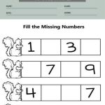 Before and After Number Worksheets 2