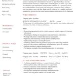 Business Intelligence Resume Sample 2