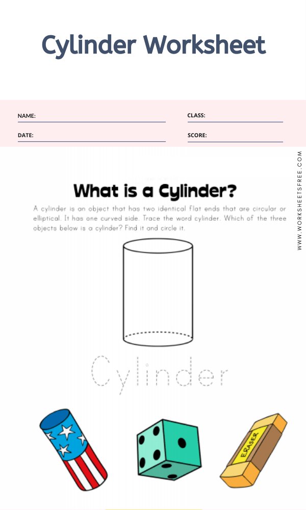 Cylinder Worksheet