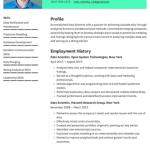 Data Science Fresher Resume Sample 3