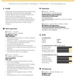 Data Science Fresher Resume Sample 4