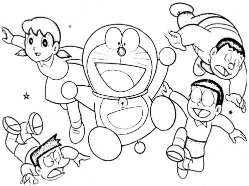 Doraemon in Nobita und die Stahltruppen New Age Malvorlagen