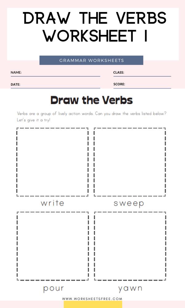Verb Worksheets For Grade 2 Worksheets Free