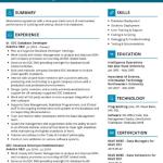 EDC Database Developer Resume Sample 1