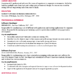 EDC Database Developer Resume Sample 3