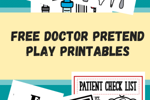 6+ FREE Doctor Pretend Play Printables Worksheets