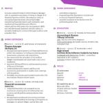 Finance Manager Resume Sample 1