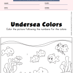 Fish Color by Numbers