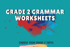 Grade 2 Grammar Worksheets
