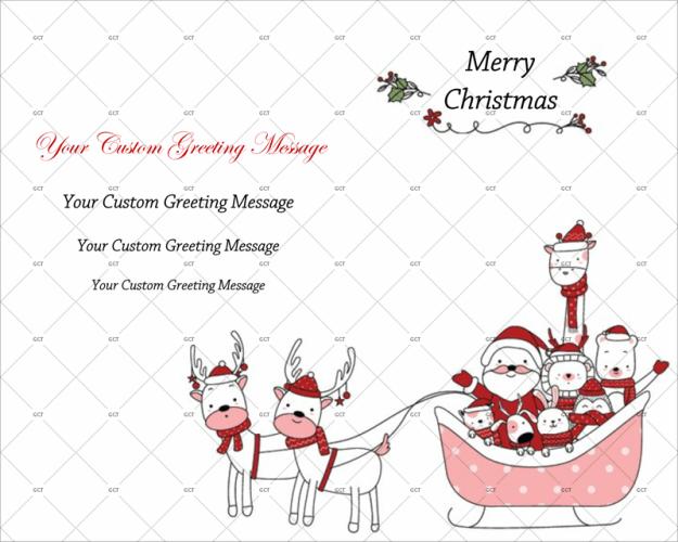 Christmas Card Template 09