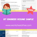 IoT Engineer Resume Sample