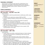 Network Support Engineer Resume Sample 4