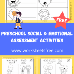 PRESCHOOL SOCIAL & EMOTIONAL ASSESSMENT ACTIVITIES