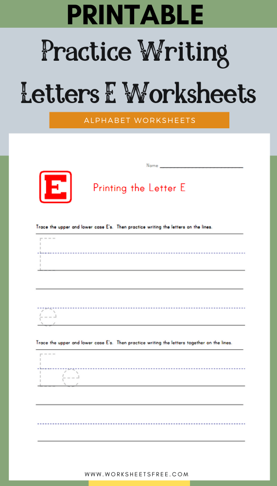 Practice-Writing-Letters-E-Worksheets