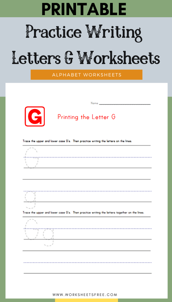Practice-Writing-Letters-G-Worksheets