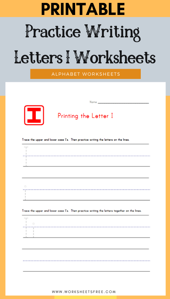 Practice-Writing-Letters-I-Worksheets