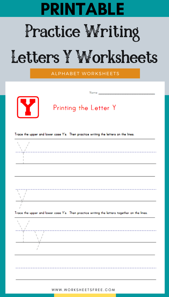 Practice-Writing-Letters-Y-Worksheets