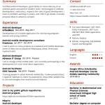 Senior Android Engineer Resume Sample 2